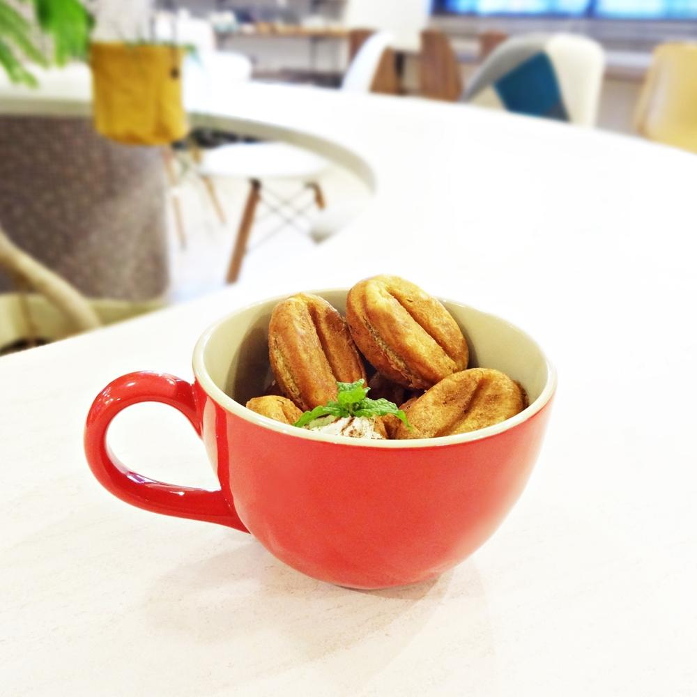 コーヒー豆 パンケーキ