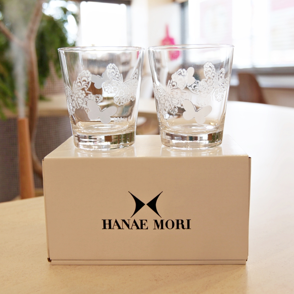 HANAE MORI ペアグラス
